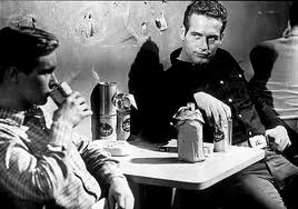 Paul Newman and Brandon de Wilde in Hud